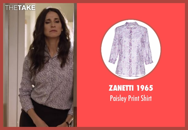 Zanetti 1965 purple shirt from Casual seen with Valerie Meyers (Michaela Watkins)