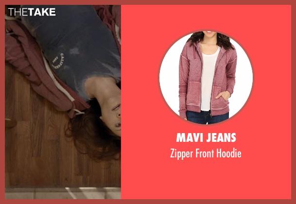 Mavi Jeans red hoodie from Casual seen with Valerie Meyers (Michaela Watkins)