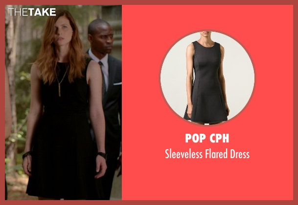 Pop CPH black dress from The Vampire Diaries seen with Valerie (Elizabeth Blackmore)