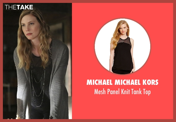 Michael Michael Kors black top from The Vampire Diaries seen with Valerie (Elizabeth Blackmore)