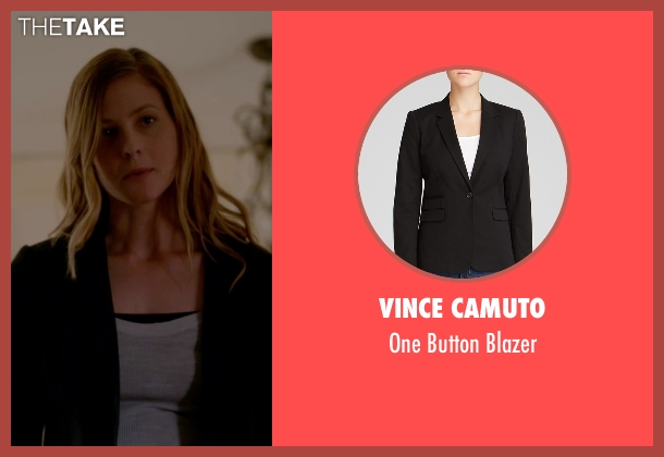 Vince Camuto black blazer from The Vampire Diaries seen with Valerie Tulle  (Elizabeth Blackmore)