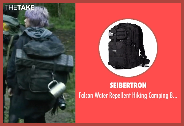 Seibertron  black backpack from Blair Witch seen with Valorie Curry (Talia)