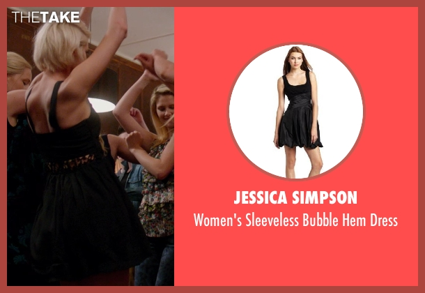 Jessica Simpson black dress from Vampire Academy