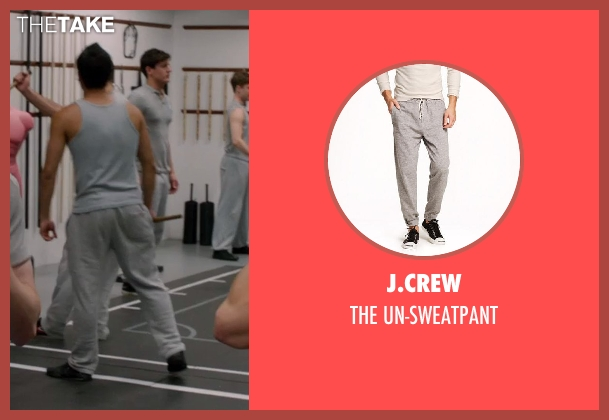 J.Crew gray un-sweatpant from Vampire Academy