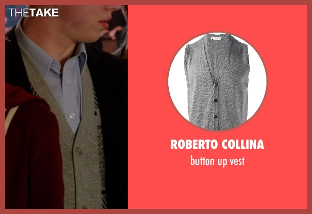 ROBERTO COLLINA gray vest from Vampire Academy