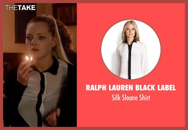 Ralph Lauren Black Label white shirt from Vampire Academy