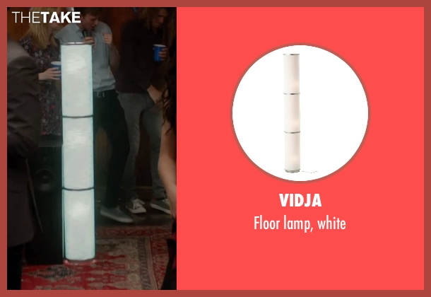 Vidja Floor Lamp White From Vampire Academy Thetake
