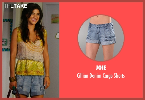Joie blue shorts from Gossip Girl seen with Vanessa Abrams (Jessica Szohr)