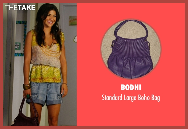 Bodhi  purple bag from Gossip Girl seen with Vanessa Abrams (Jessica Szohr)