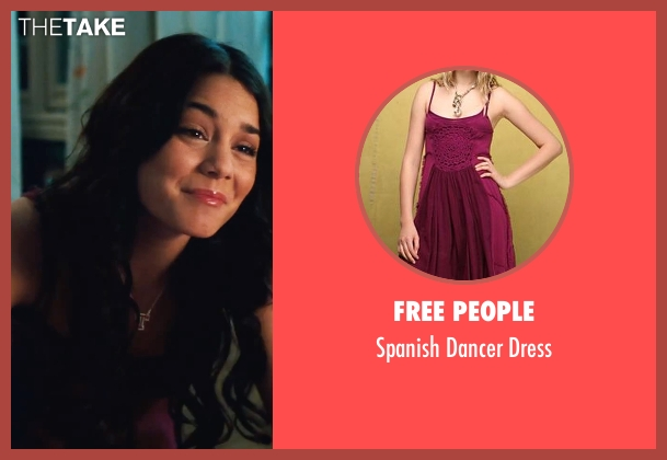 Free People purple dress from High School Musical 3: Senior Year seen with Vanessa Hudgens (Gabriella Montez)