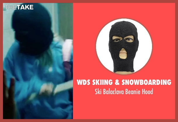 WDS Skiing & Snowboarding black hood from Spring Breakers seen with Vanessa Hudgens (Candy)