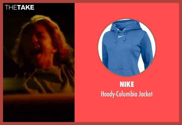 Nike blue jacket from Spring Breakers seen with Vanessa Hudgens (Candy)