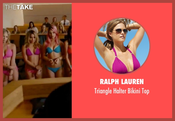 Ralph Lauren pink top from Spring Breakers seen with Vanessa Hudgens (Candy)