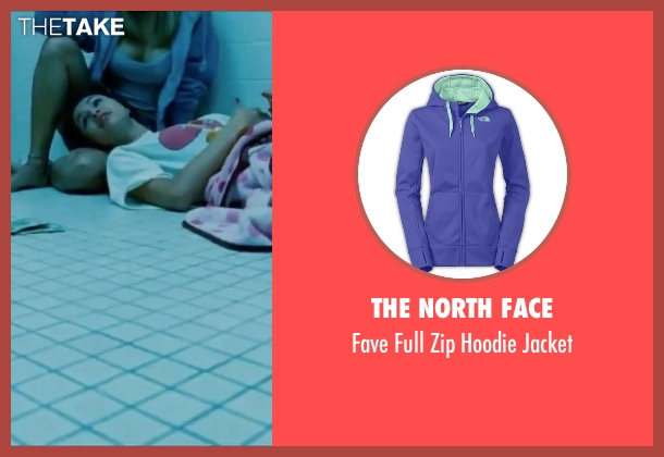 The North Face purple jacket from Spring Breakers seen with Vanessa Hudgens (Candy)