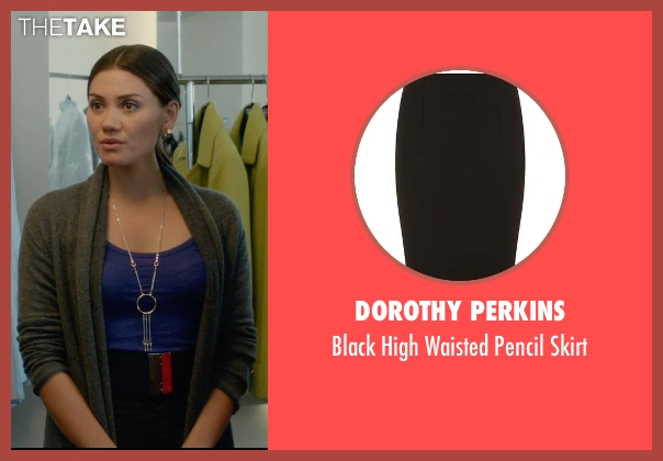 Dorothy Perkins black skirt from What If seen with Vanessa Matsui (Saleswoman)