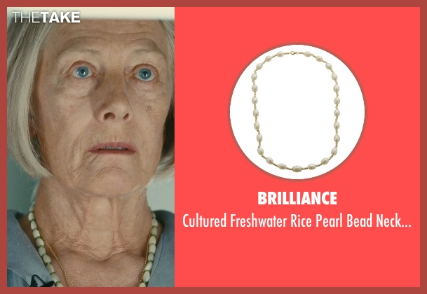 Brilliance white necklace from Atonement seen with Vanessa Redgrave (Older Briony)