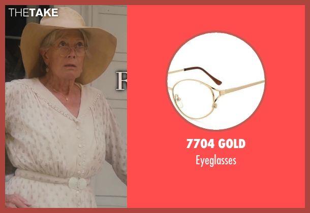 7704 Gold eyeglasses from Lee Daniels' The Butler seen with Vanessa Redgrave (Annabeth Westfall)