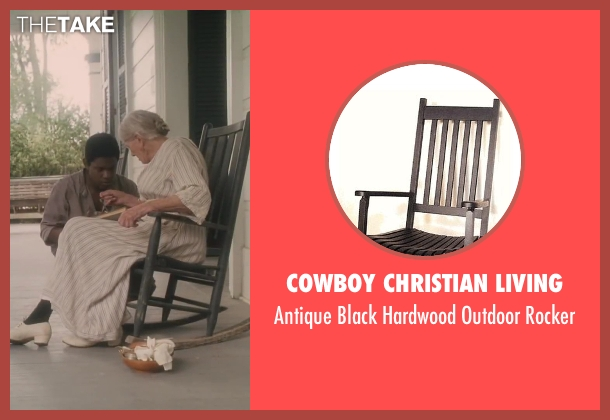 Cowboy Christian Living rocker from Lee Daniels' The Butler seen with Vanessa Redgrave (Annabeth Westfall)