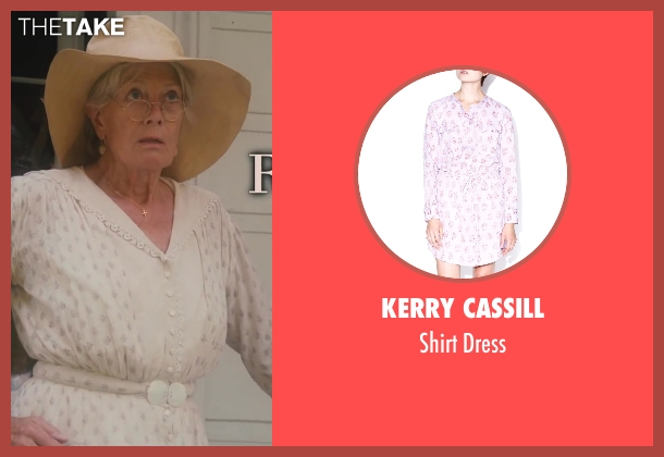 Kerry Cassill white dress from Lee Daniels' The Butler seen with Vanessa Redgrave (Annabeth Westfall)