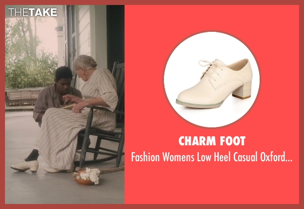 Charm Foot white shoes from Lee Daniels' The Butler seen with Vanessa Redgrave (Annabeth Westfall)