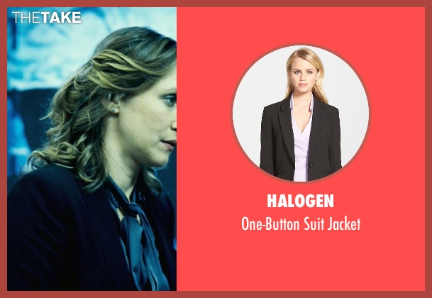 Halogen black jacket from Safe House seen with Vera Farmiga (Catherine Linklater)