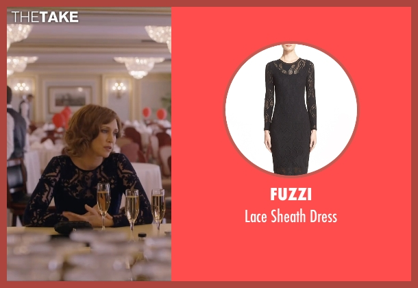 Fuzzi black dress from Special Correspondents seen with Vera Farmiga (Eleanor Finch)