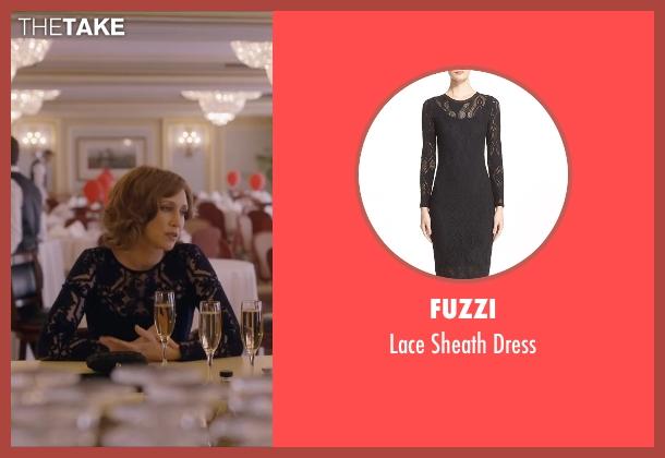 Fuzzi black dress from Special Correspondents seen with Vera Farmiga (Eleanor Finch)