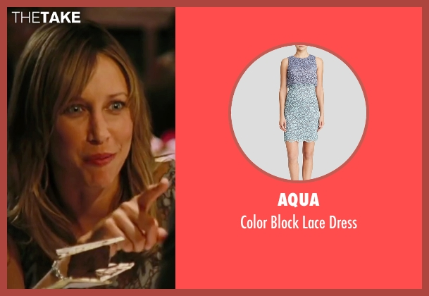 Aqua gray dress from The Departed seen with Vera Farmiga (Madolyn)