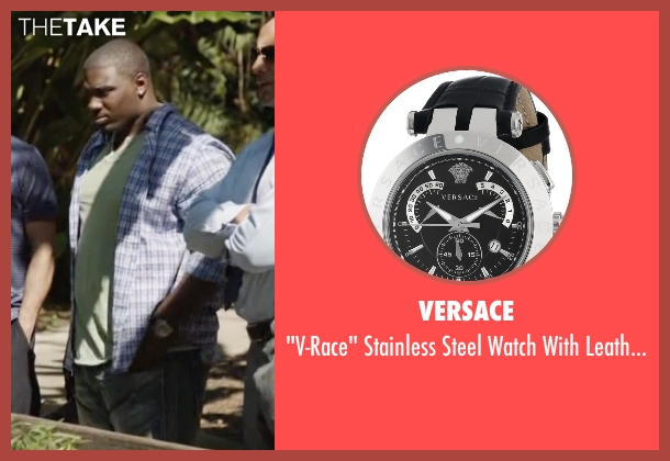 Versace black band from Ballers seen with Vernon (Donovan W. Carter)
