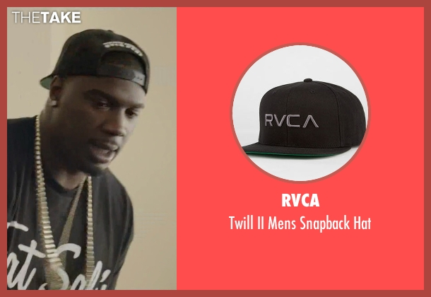 RVCA black hat from Ballers seen with Vernon (Donovan W. Carter)