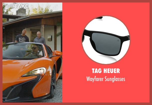 Tag Heuer black sunglasses from Ballers seen with Vernon (Donovan W. Carter)