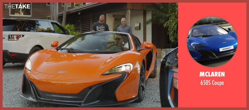 McLaren coupe from Ballers seen with Vernon (Donovan W. Carter)