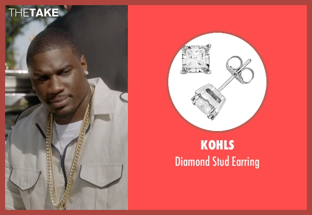 Kohls earring from Ballers seen with Vernon (Donovan W. Carter)