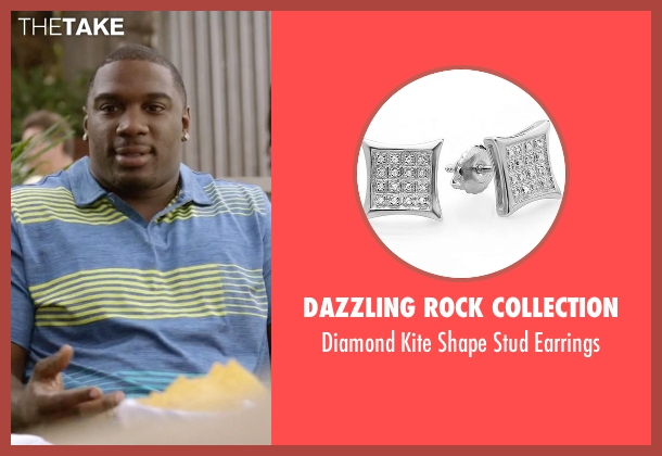 Dazzling Rock Collection earrings from Ballers seen with Vernon (Donovan W. Carter)