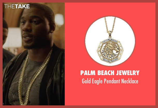 Palm Beach Jewelry gold necklace from Ballers seen with Vernon (Donovan W. Carter)