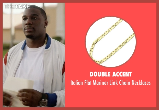 Double Accent gold necklaces from Ballers seen with Vernon (Donovan W. Carter)