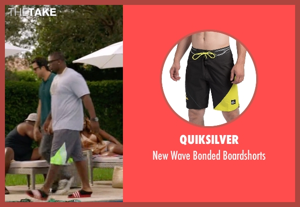 Quiksilver gray boardshorts from Ballers seen with Vernon (Donovan W. Carter)