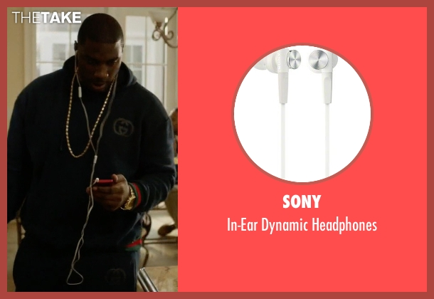 Sony headphones from Ballers seen with Vernon (Donovan W. Carter)