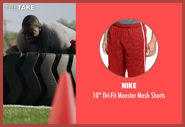 Nike red shorts from Ballers seen with Vernon (Donovan W. Carter)