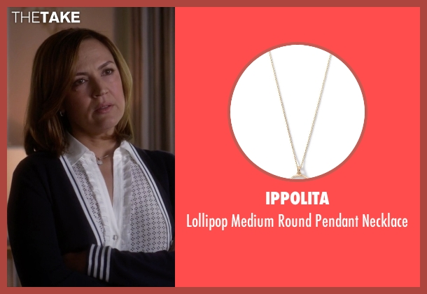 Ippolita white necklace from Pretty Little Liars seen with Veronica Hastings (Lesley Fera)