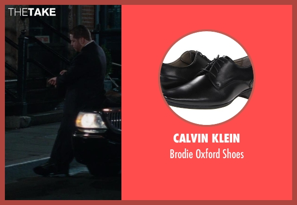 Calvin Klein black shoes from The Other Woman seen with Victor Cruz (Fernando)