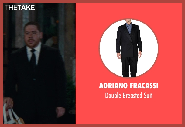 Adriano Fracassi black suit from The Other Woman seen with Victor Cruz (Fernando)
