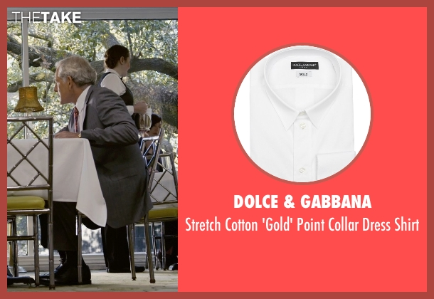 Dolce & Gabbana white shirt from Self/Less seen with Victor Garber (Martin)