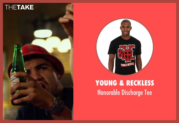 Young & Reckless black tee from The Expendables 3 seen with Victor Ortiz (Mars)