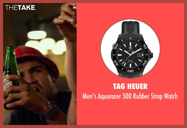 Tag Heuer black watch from The Expendables 3 seen with Victor Ortiz (Mars)