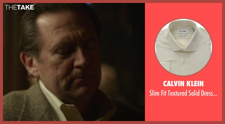 Calvin Klein beige shirt from That Awkward Moment seen with Victor Slezak (Older Gentleman)