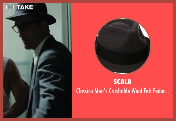 Scala gray hat from Bridge of Spies seen with Victor Verhaeghe (Agent Gamber)