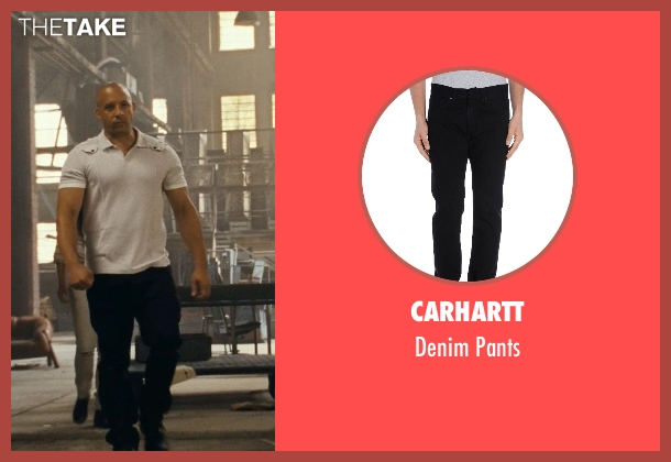 Carhartt black pants from Fast Five seen with Vin Diesel (Dominic Toretto)