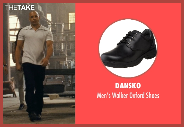 Dansko black shoes from Fast Five seen with Vin Diesel (Dominic Toretto)