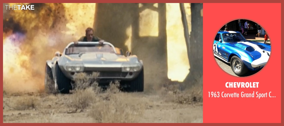 Chevrolet coupe from Fast Five seen with Vin Diesel (Dominic Toretto)